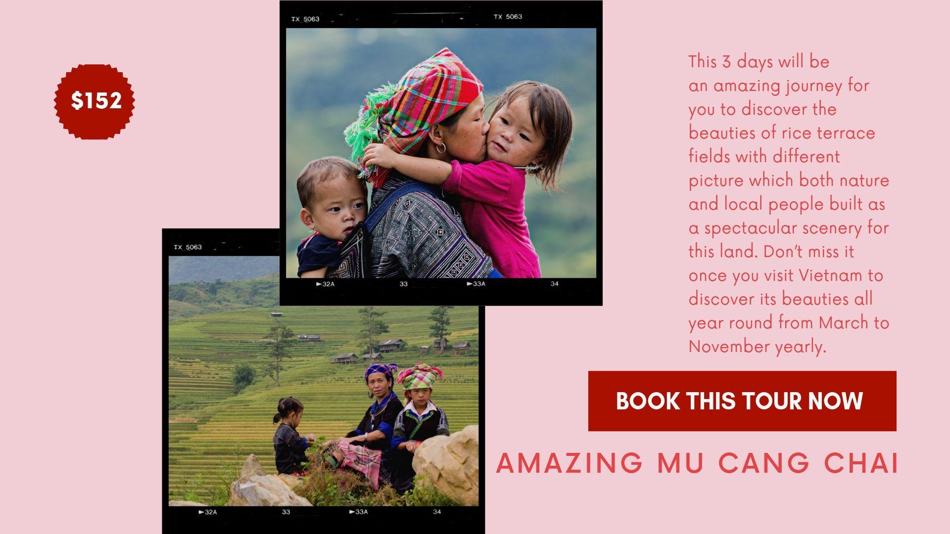 Tour Trekking Mu Cang Chai 03 Days