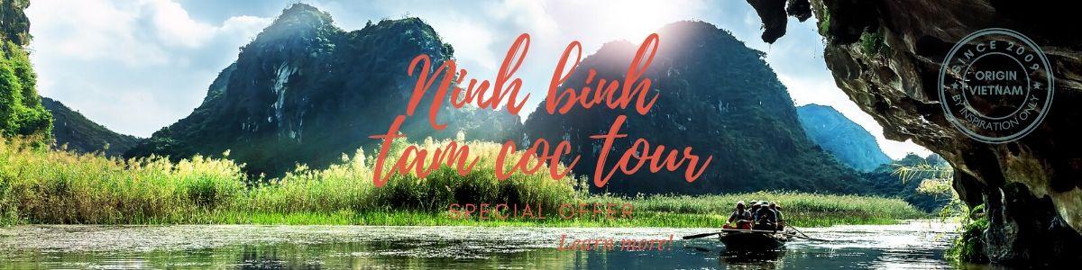 Tour to Tam Coc Ninh Binh from Ha Noi