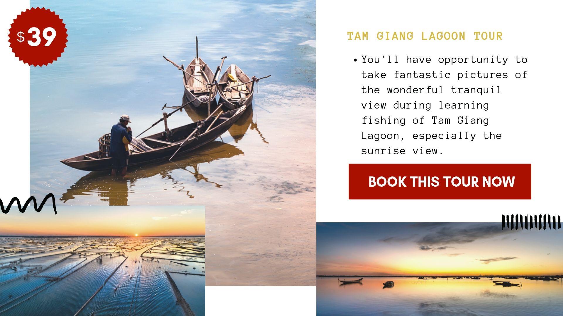 Tam Giang Lagoon Tour