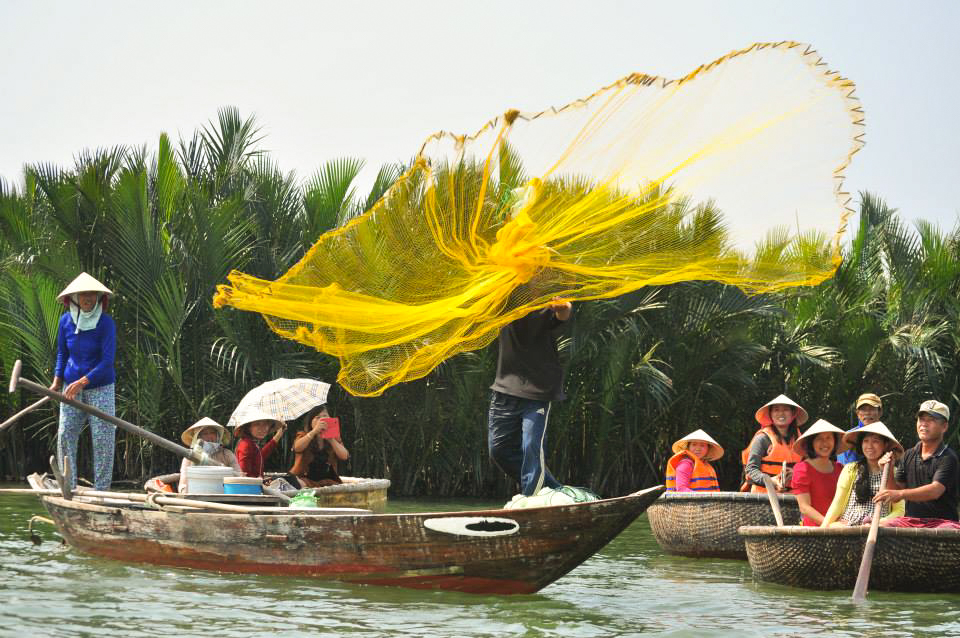 Bay Mau coconut forest - Cam Thanh village - Hoian