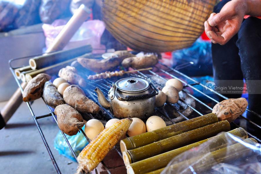 BBQ near Thac Bac