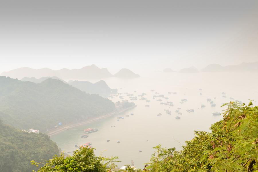 View from Viet Hai Village
