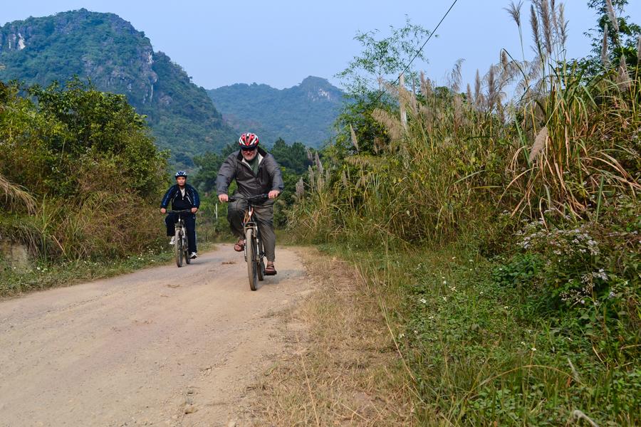 Biking to Viet Hai Village