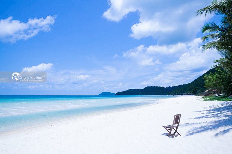 The beach in Phu Quoc