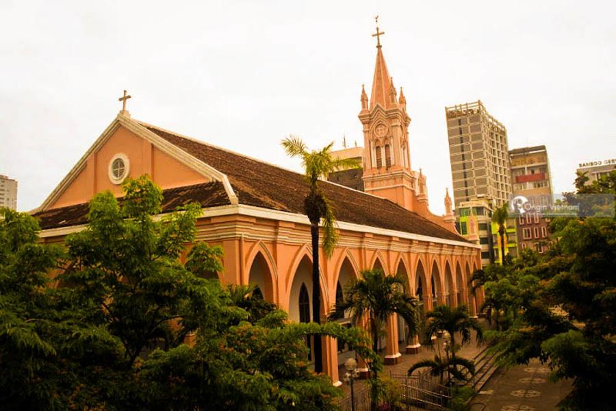 Danang Cathedral or Chicken Church - Top 8 Sightseeing In Da Nang