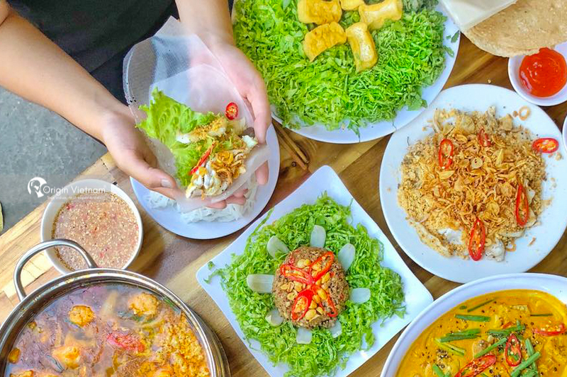 Nam O fish salad