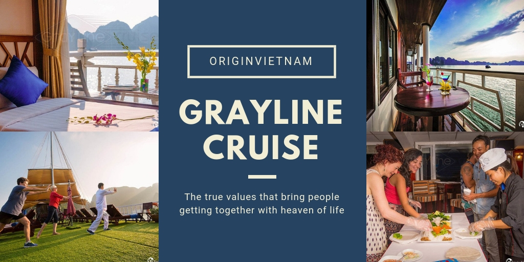 Gray Line Cruise – The Difference Of Worldwide Brand In Halong Bay Cruising