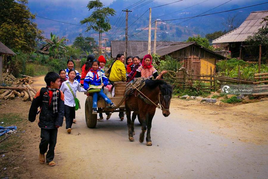 Children in Sapa