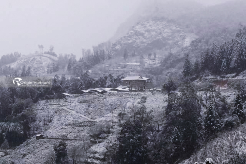 Snow in Sapa