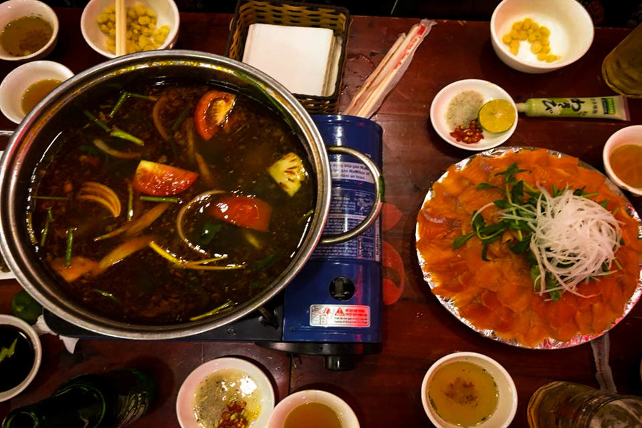 Sapa Salmon hotpot - Special Food In Sapa Should Not Miss Before You Leave