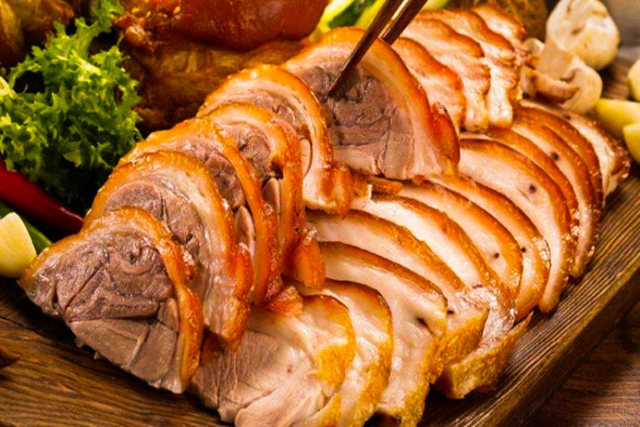 Dishes from Pork (Lon Cap Nach or Lon Ban) - Special Food In Sapa Should Not Miss Before You Leave