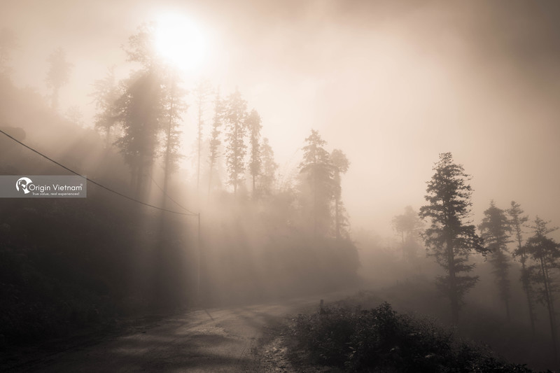 Sunrise in Sapa