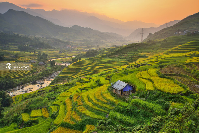 The peaceful yet majestic nature in Sapa