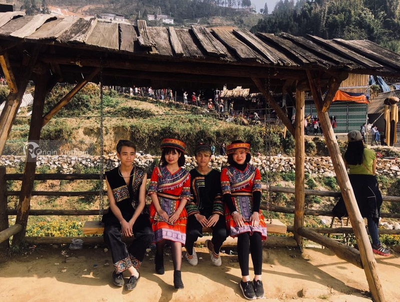 Enjoy The View Of Sapa From Ham Rong Mountain On Spring