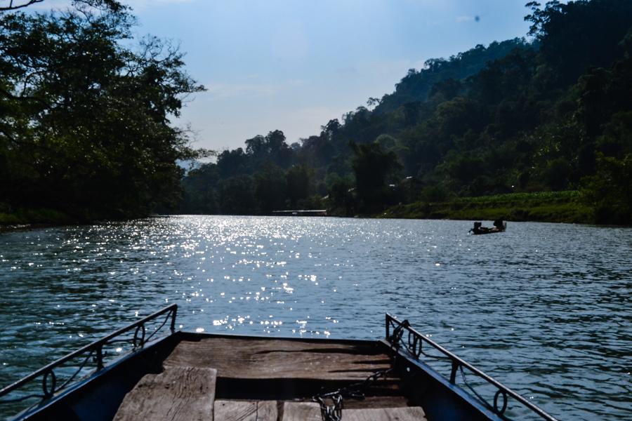 Boat trip - Ba Be Lake