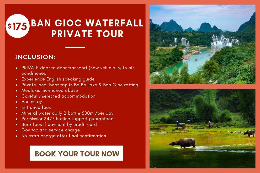 Ban Gioc Waterfall Private Tour