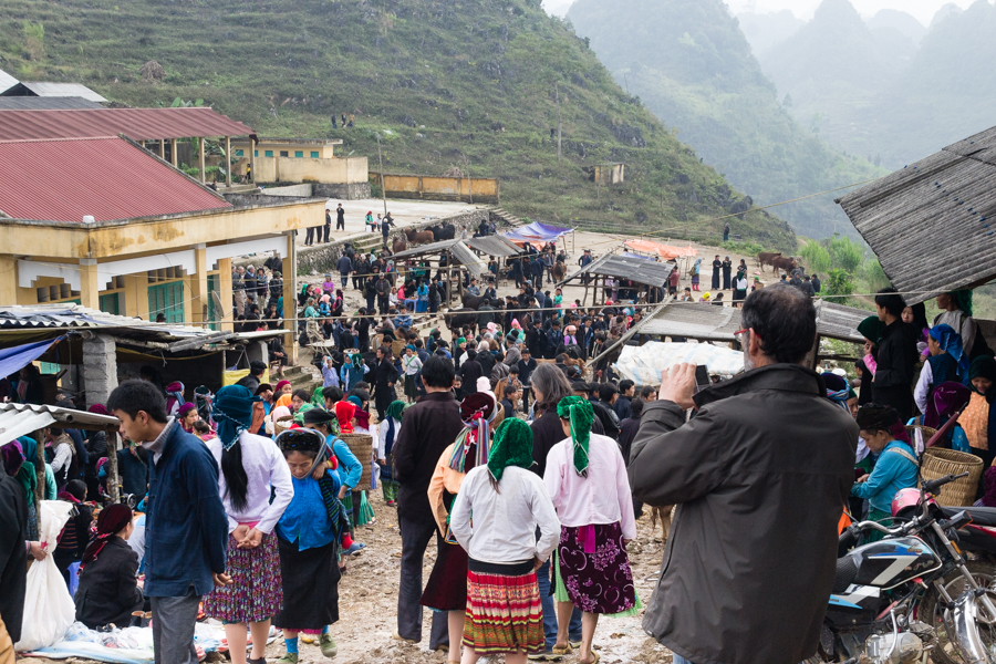 Ha Giang - Lung Phin market