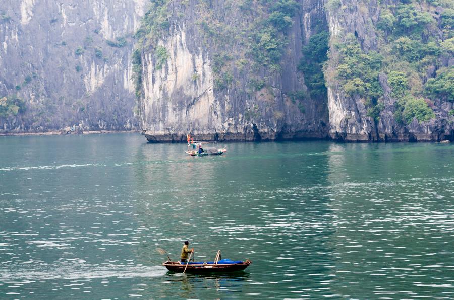 Fisherman in Dau Be Island area