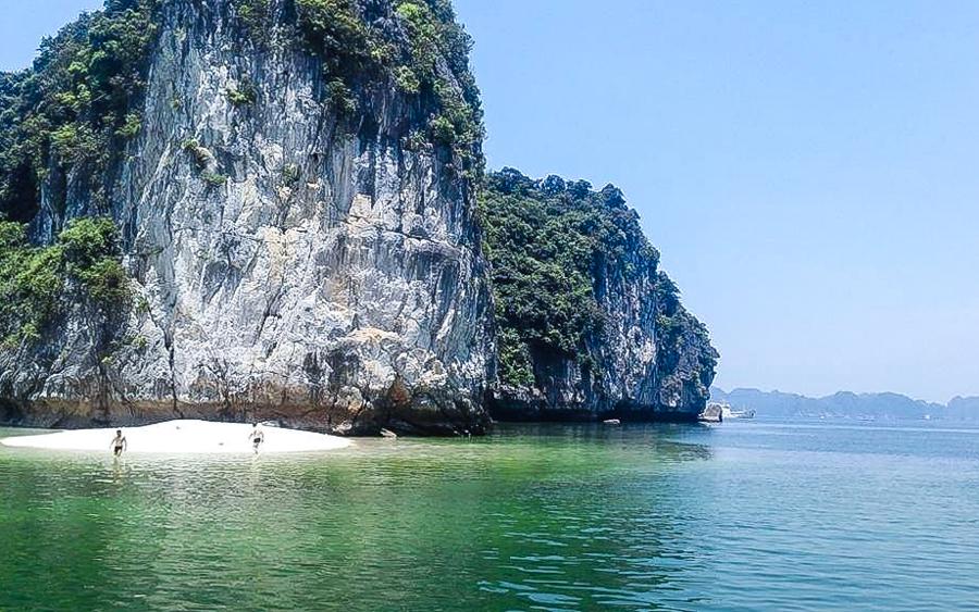 Van Boi Beach