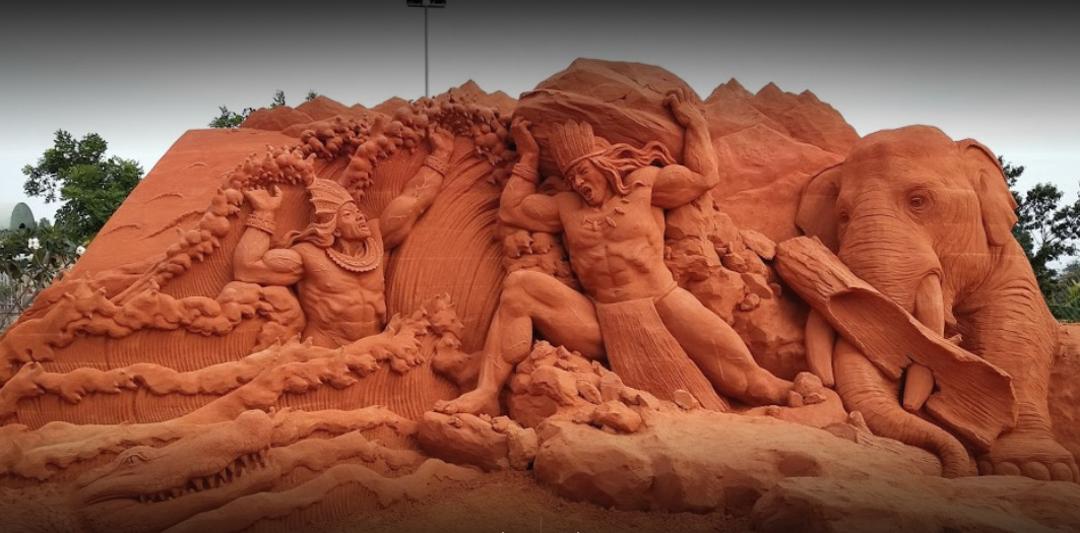 Sand Statue Park
