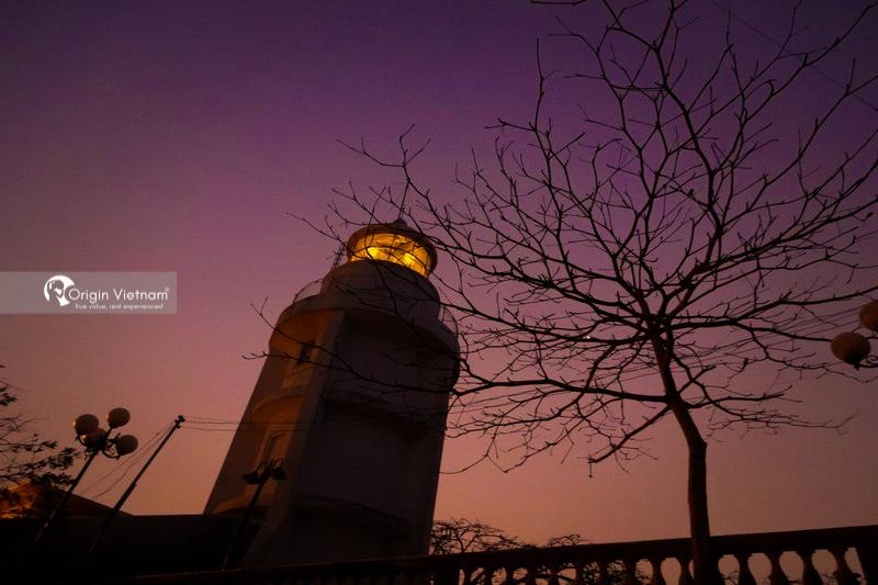 Vung Tau lighthouse at night