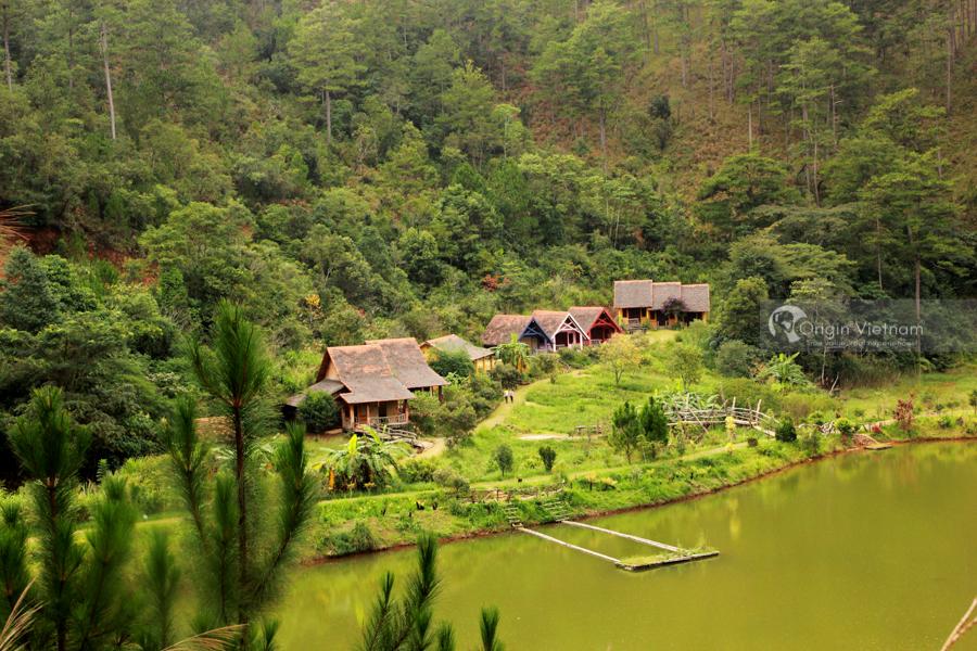 Lake front in Cu Lan Village