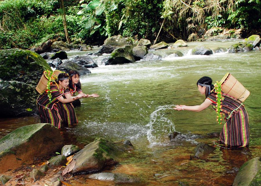 Dambri Waterfall in Da Lat