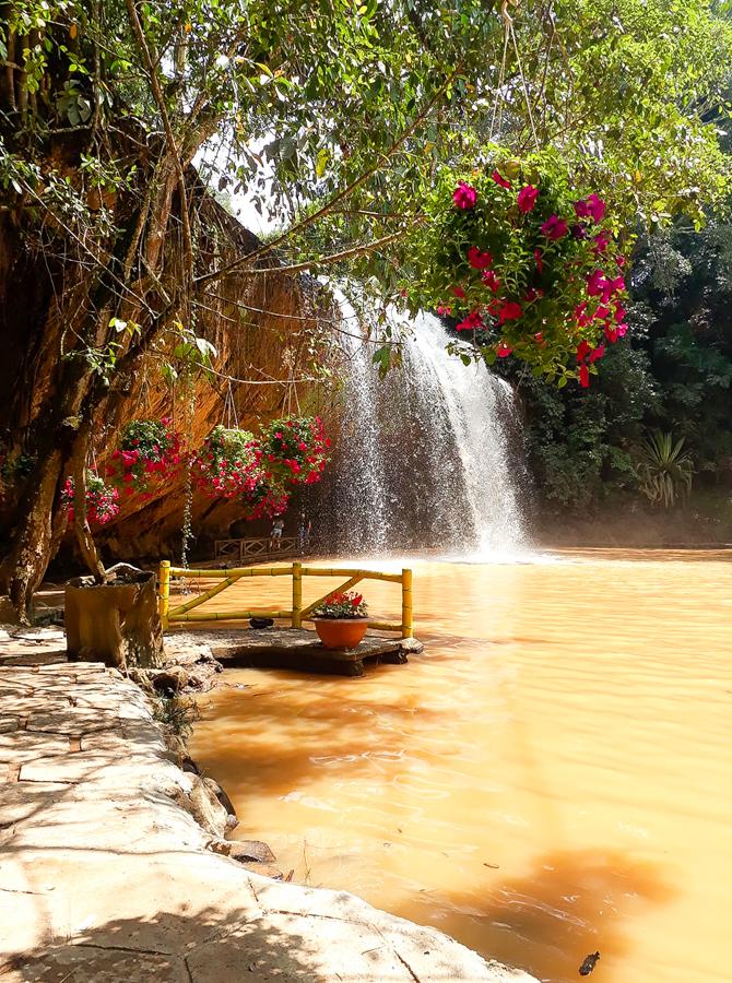 Da Lat Prenn waterfall
