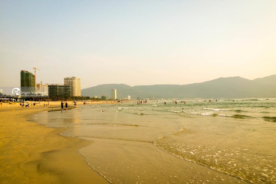 My Khe beach in Danang