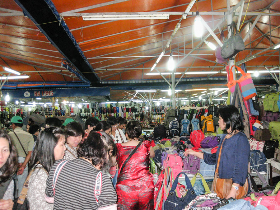 Night market Halong Bay