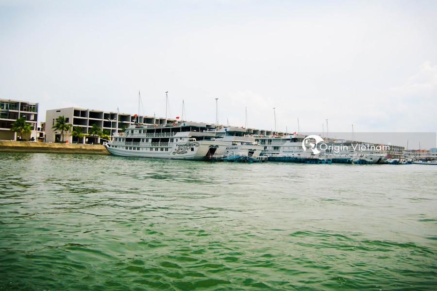 Tuan Chau wharf