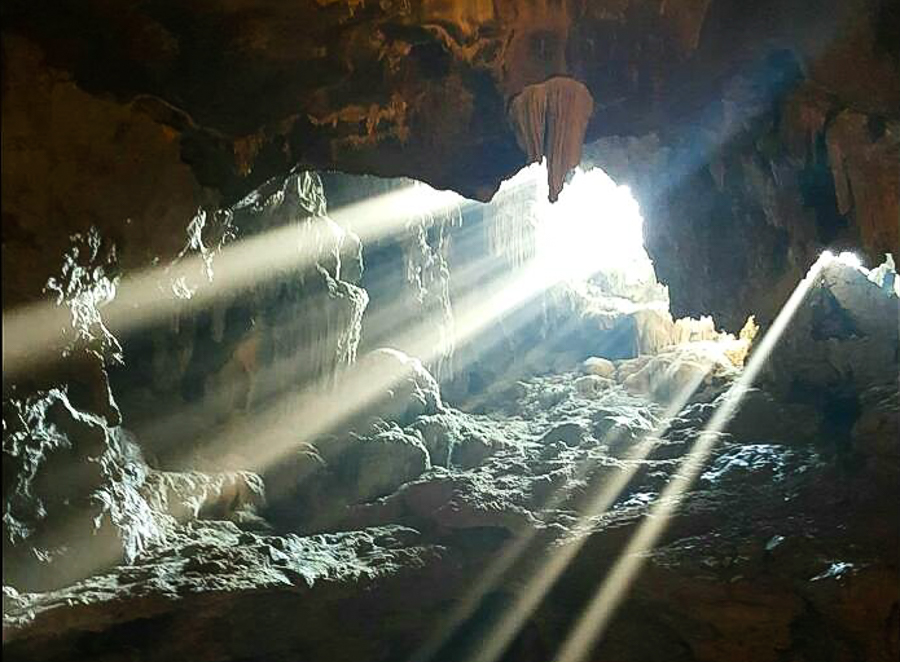where foundation cave of thien cung