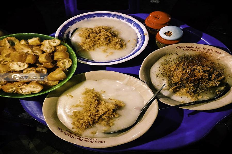 Chao Suon – common Hanoi street food