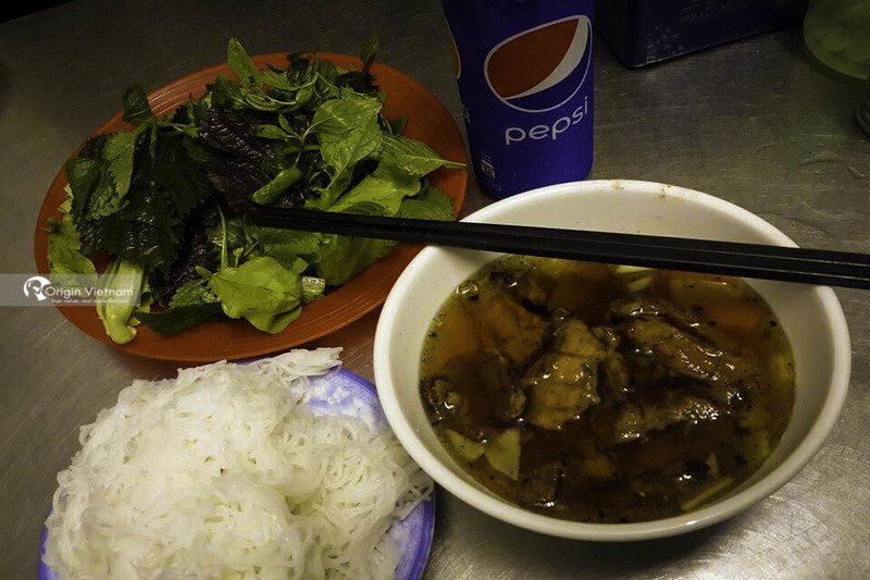 Bun Cha Huong Lien at 36 Le Van Huu