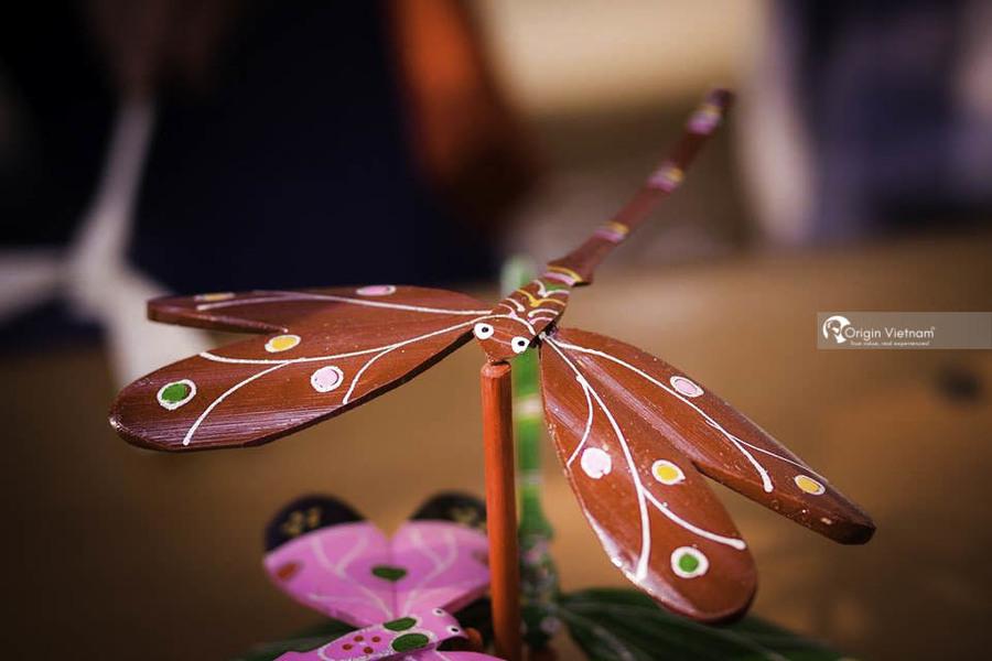 Thach Xa bamboo dragonfly village