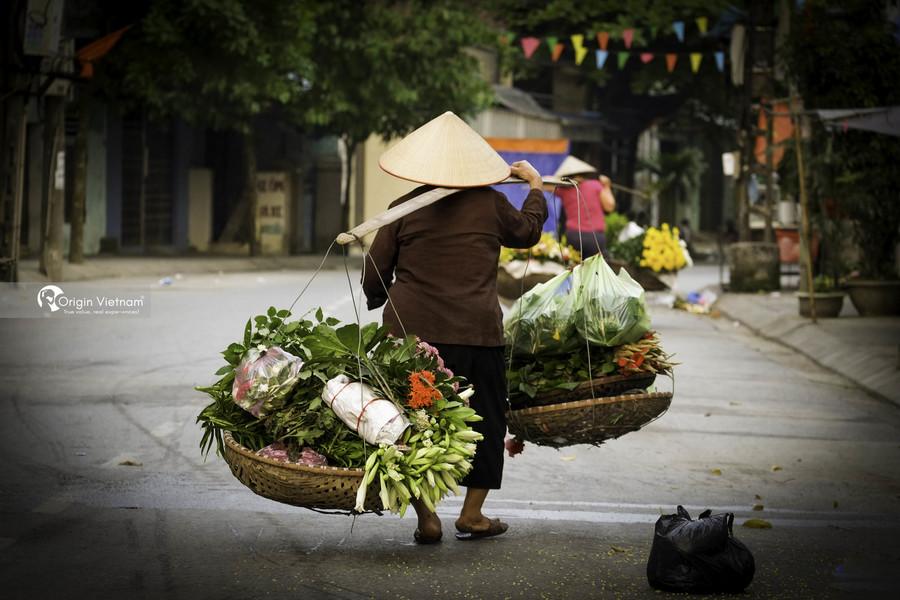 Burden Street in Hanoi Old Quarter