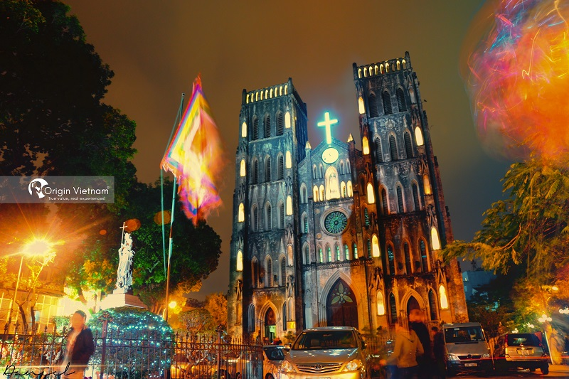 Where is Hanoi Cathedral