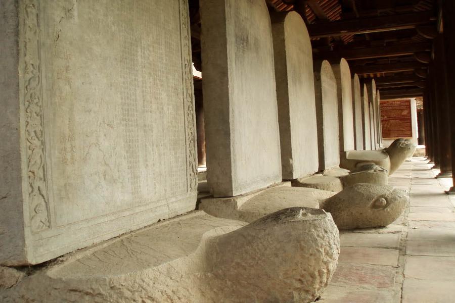 Doctors' Stone Stelea in Temple of Literature