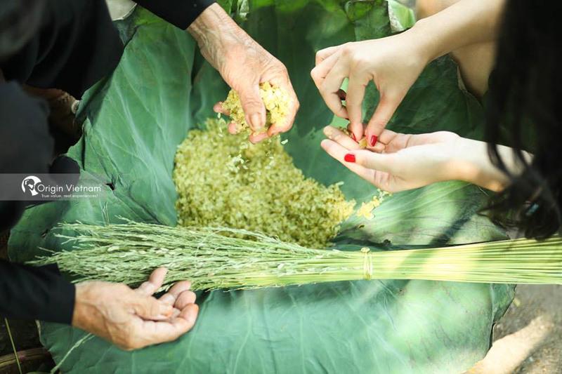 Green rice Hanoi