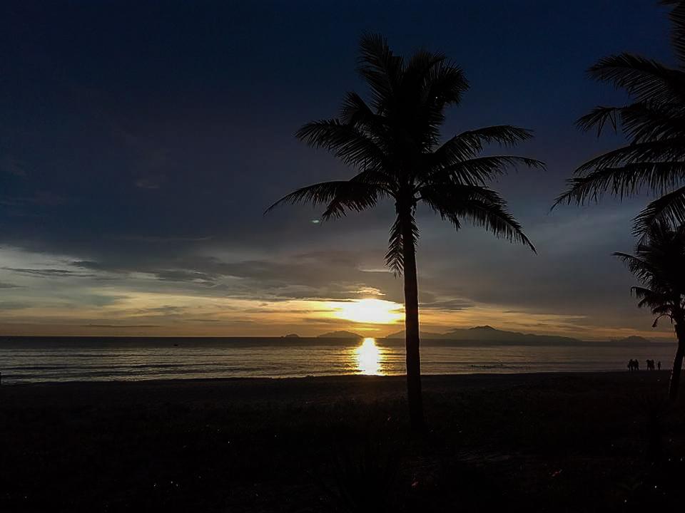 Sunset at Hoi An's An Bang beach