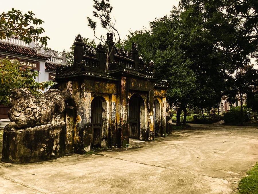 Entrance of Chuc Thanh Pagoda