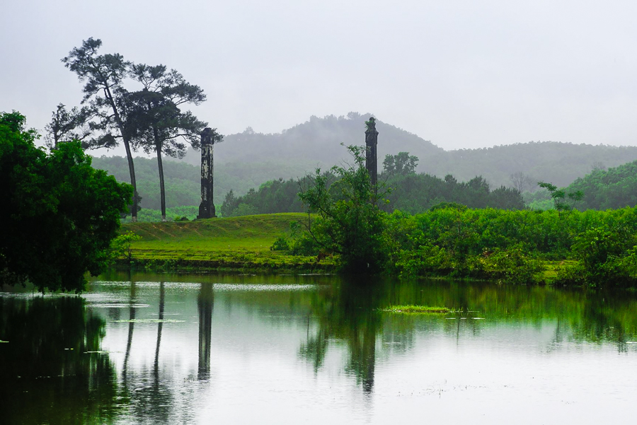 Landscape at Gia Long Tomb