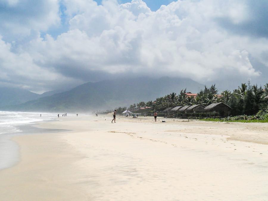 Sunny day at Lang Co Beach