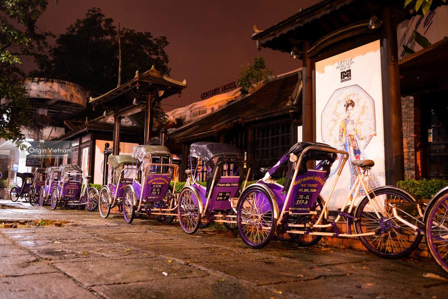 Cyclo in Hue City