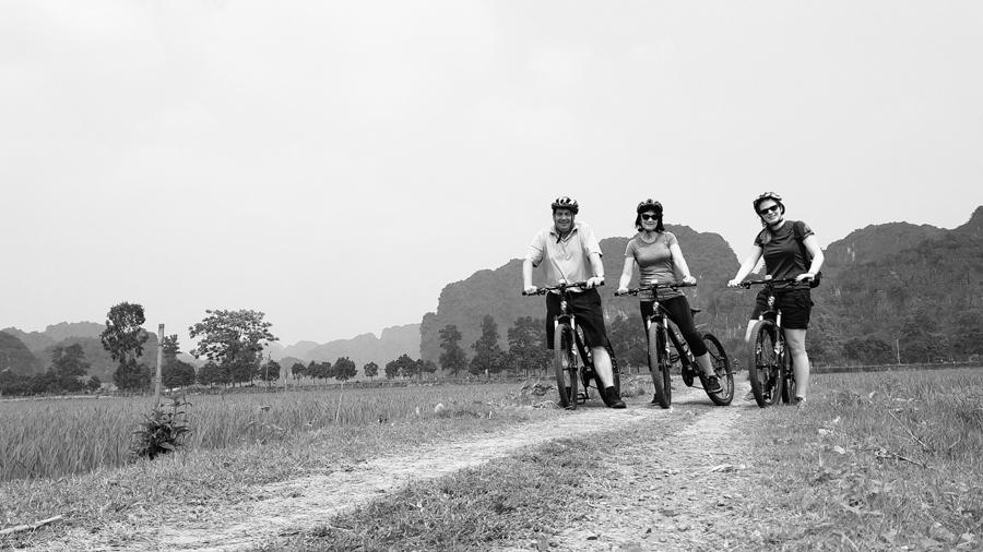 Cycling in Ninh Binh