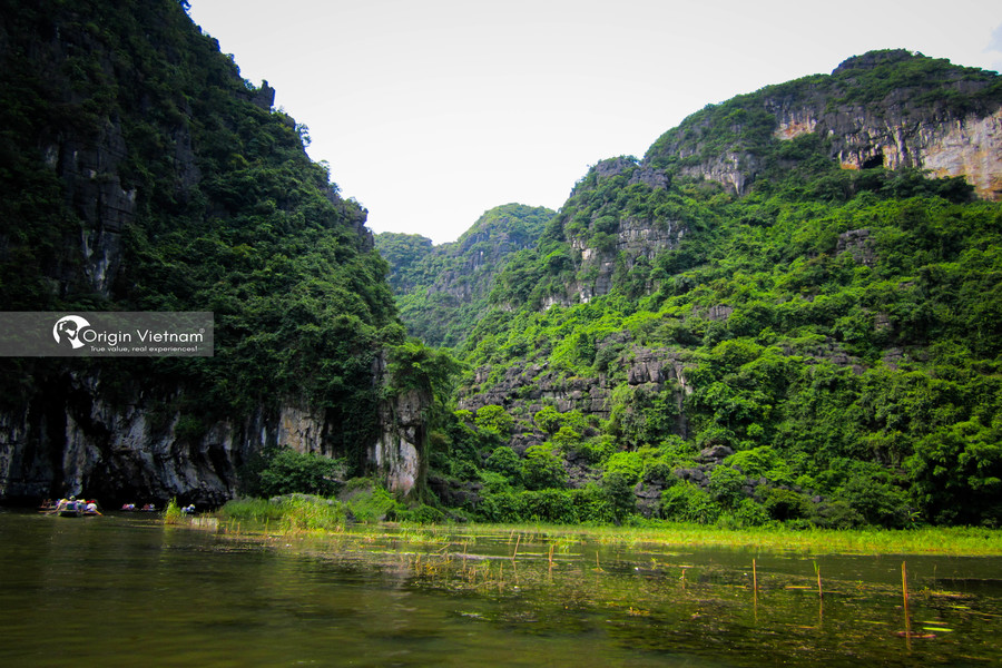Visit Tam Coc by the boat