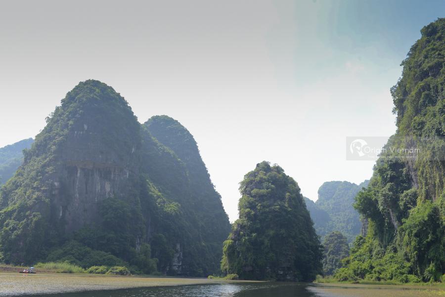 Amazing landscape at Trinh temple
