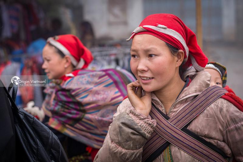 Red Dao women in Sapa