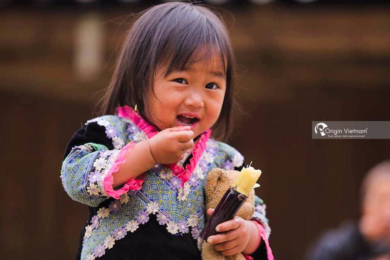 Child in Sapa